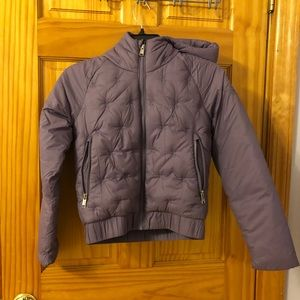 Girls NorthFace Purple Jacket